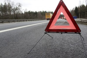 A picture of a breakdown sign on a motorway